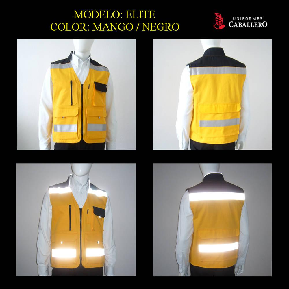 Chaleco de Seguridad Elite Amarillo con Negro