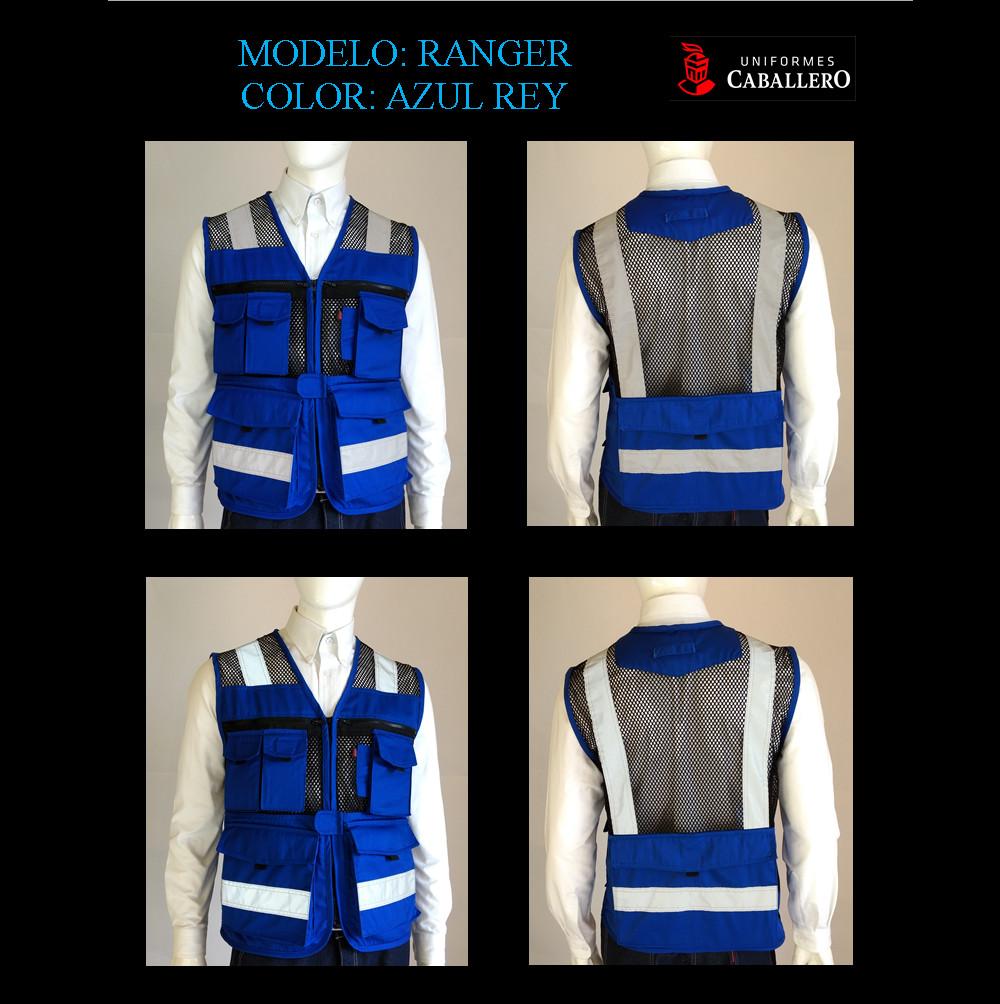 Chaleco de Seguridad Ranger en Azul Rey