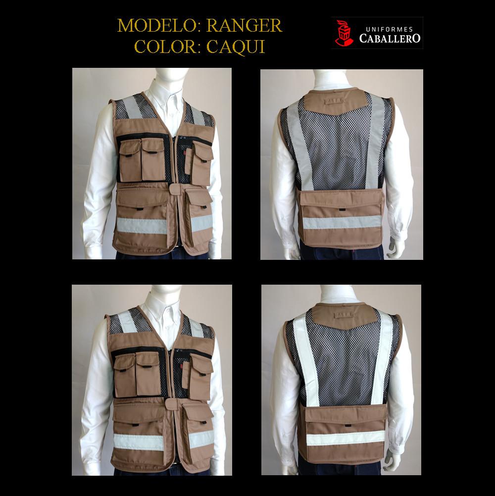 Chaleco de Seguridad Ranger en Caqui