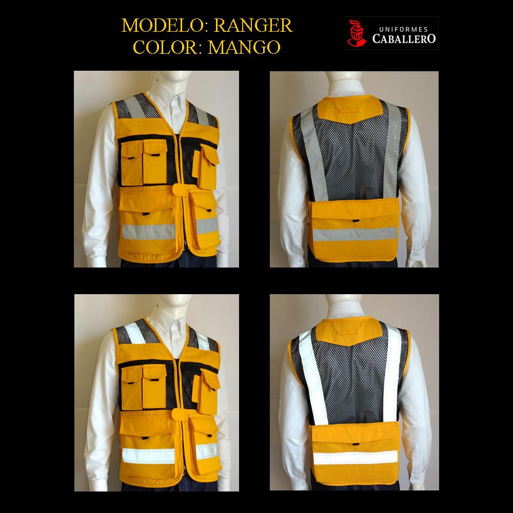 Chaleco de Seguridad Ranger en Amarillo