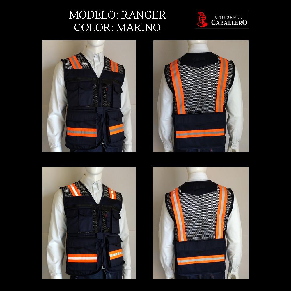 Chaleco de Seguridad Ranger en Marino