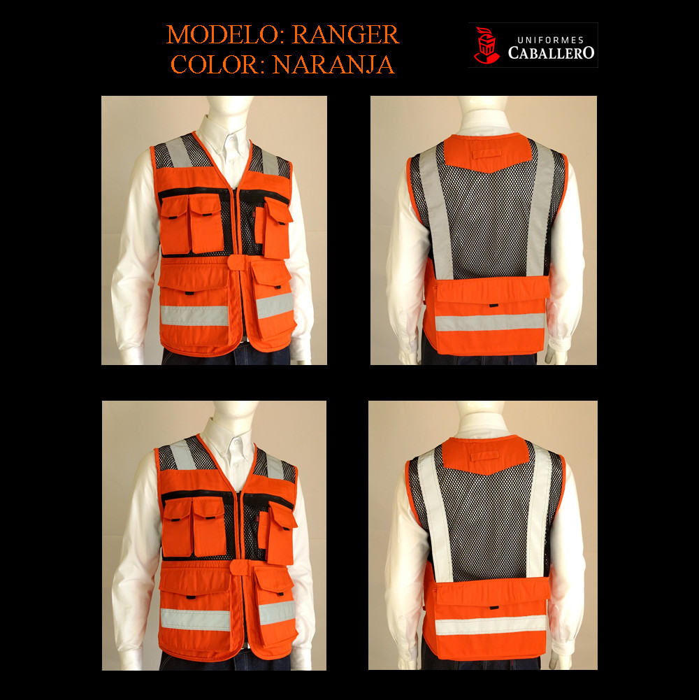 Chaleco de Seguridad Ranger en Naranja