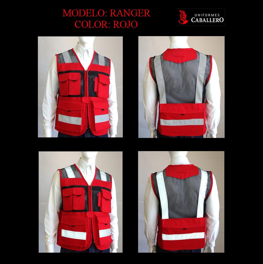 Chaleco de Seguridad Ranger en Rojo