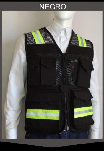 Chaleco de Seguridad Ranger  en Negro